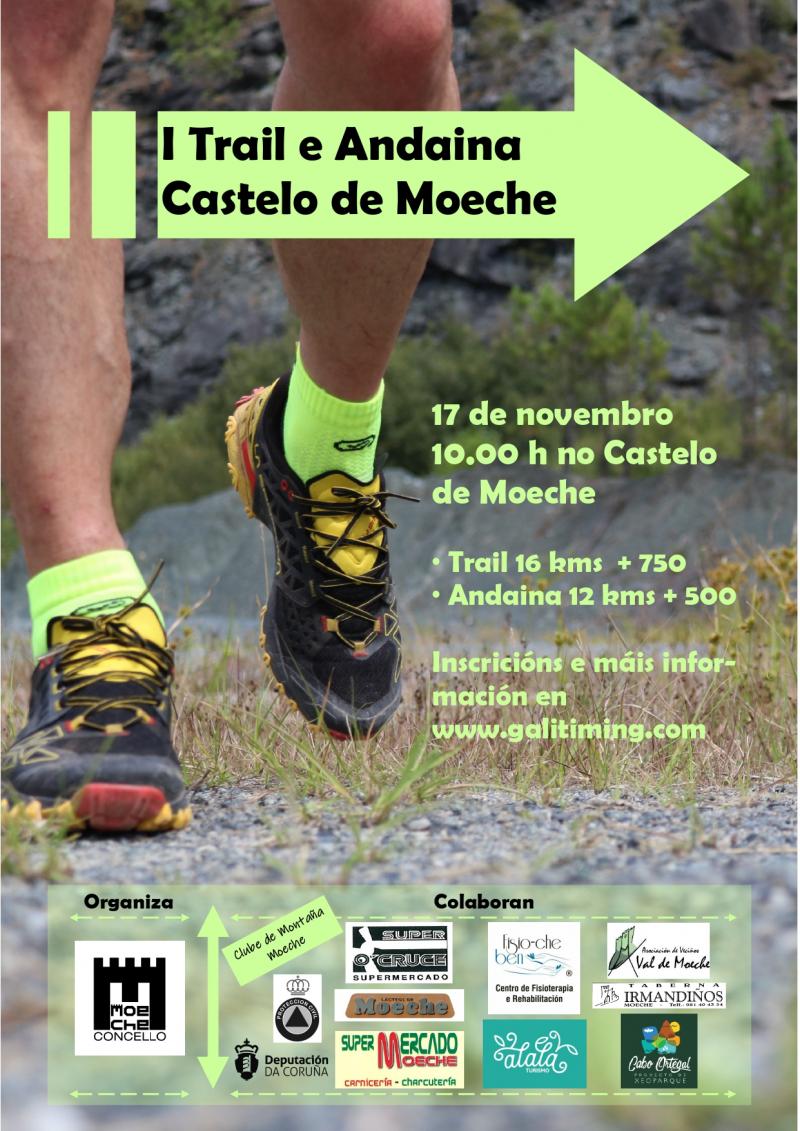 I TRAIL E ANDAINA CASTELO DE MOECHE - 2019 - Inscríbete