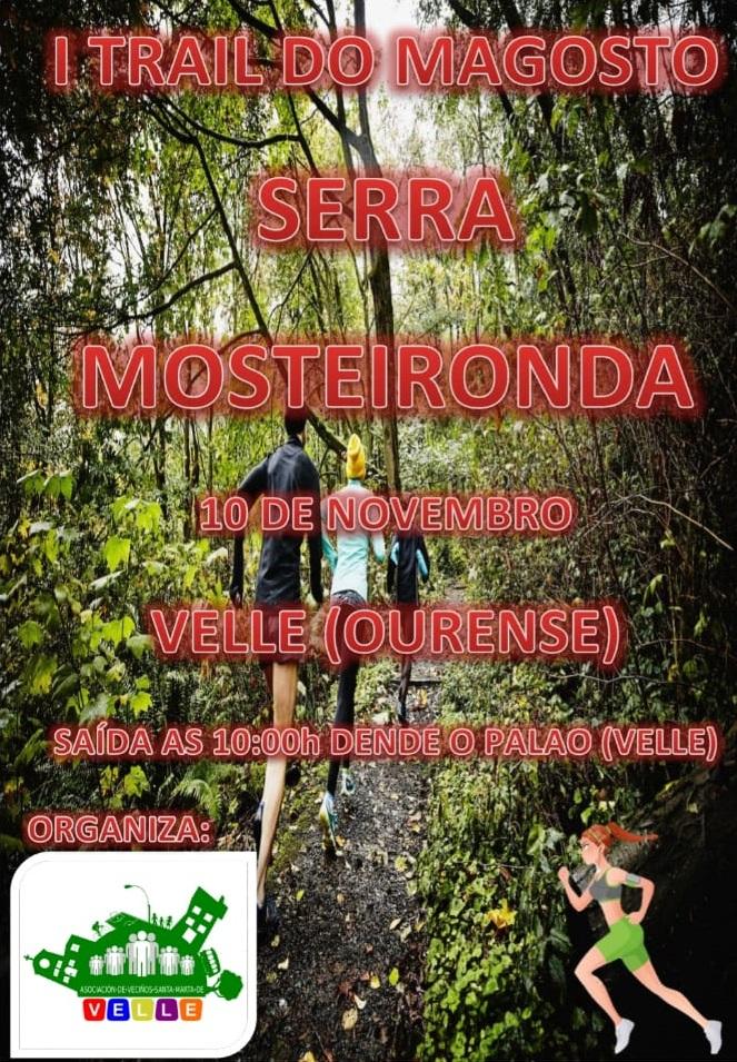 I TRAIL DO MAGOSTO SERRA MOSTEIRONDA - Inscríbete