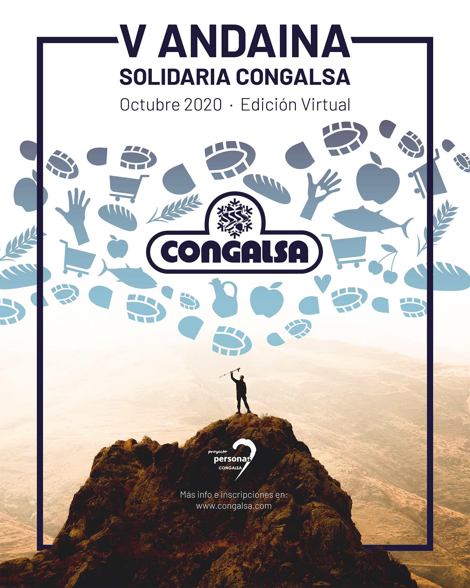 V ANDAINA SOLIDARIA CONGALSA - EDICIÓN VIRTUAL - Inscríbete