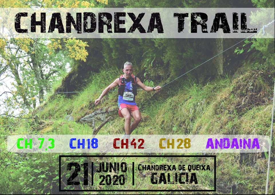 Cartel del evento CHANDREXA TRAIL 2020