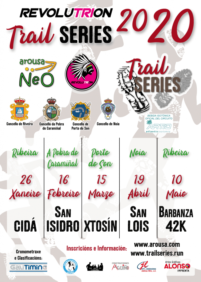 Cartel del evento REVOLUTRION TRAIL SERIES 2020