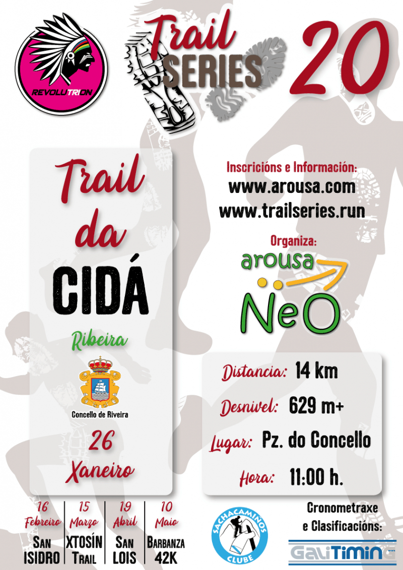 Cartel del evento REVOLUTRION TRAIL SERIES 2020 - TRAIL DA CIDÁ