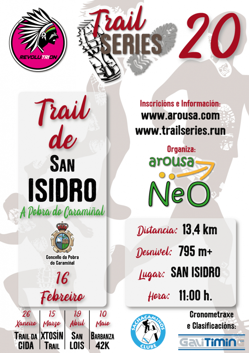 Cartel del evento REVOLUTRION TRAIL SERIES 2020 - TRAIL DE SAN ISIDRO