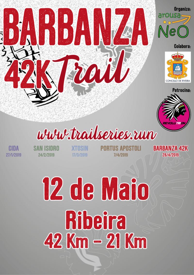 Cartel del evento BARBANZA 42K TRAIL 2020 - RIBEIRA