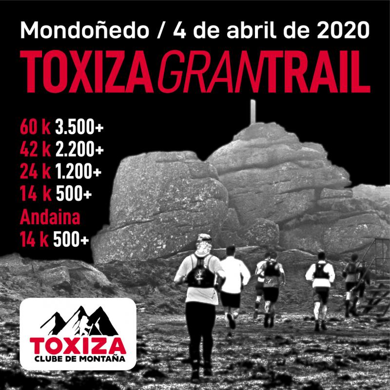 Cartel del evento TOXIZA GRAN TRAIL 2020