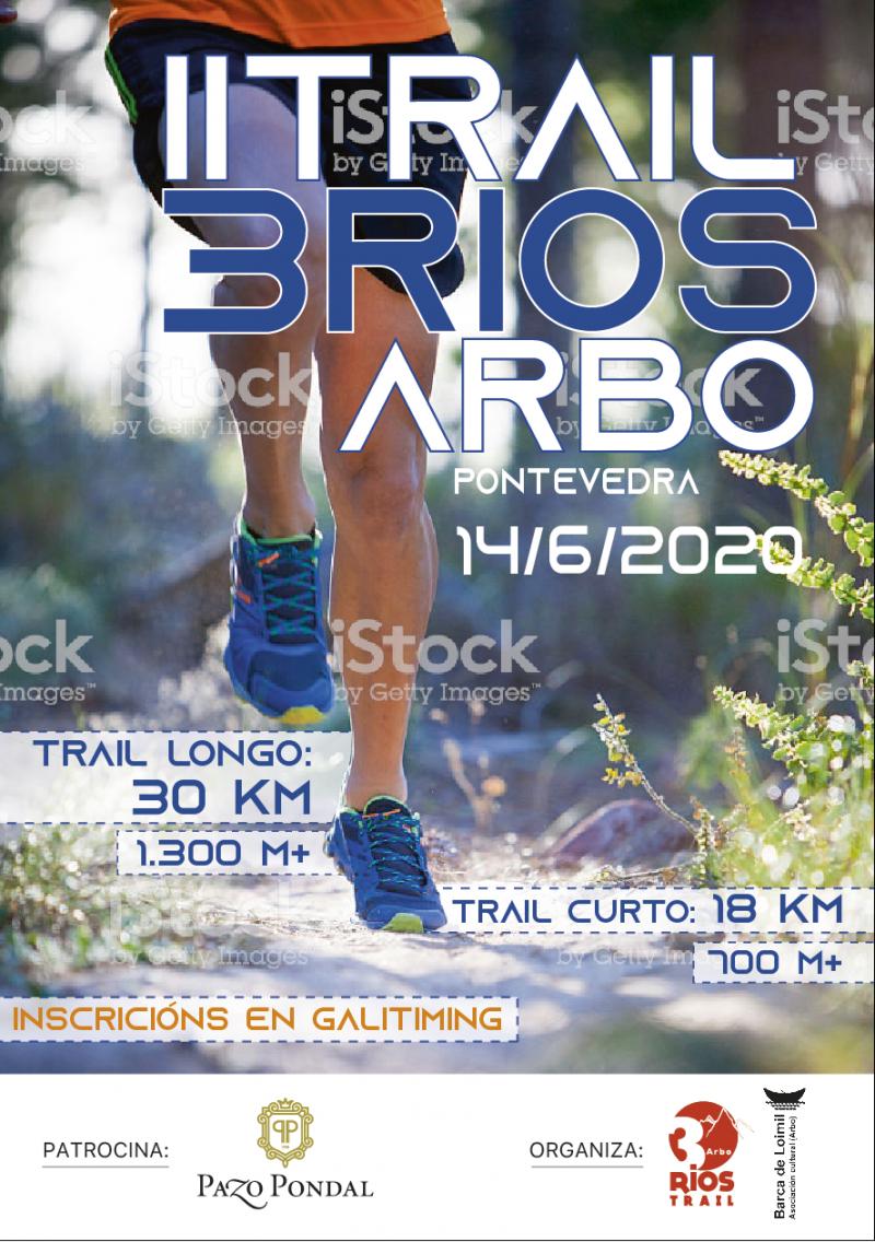 Cartel del evento TRAIL 3RIOS