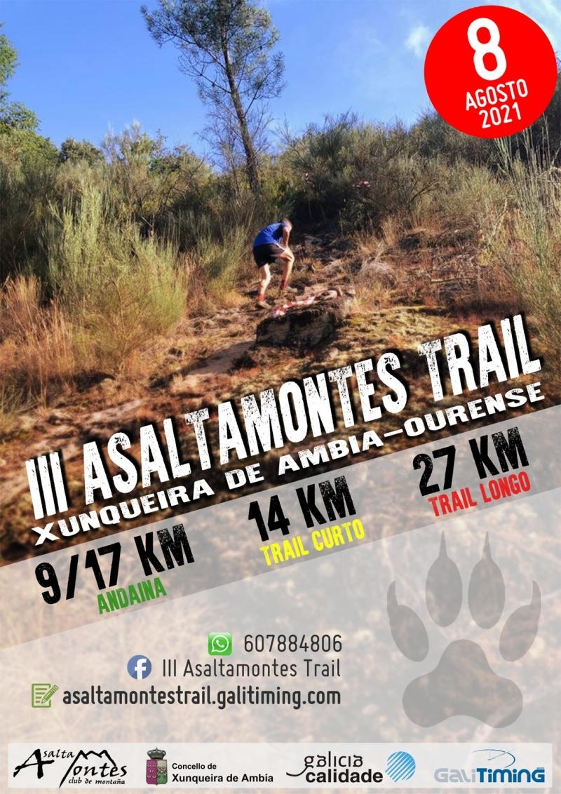 Event Poster III TRAIL E ANDAINA ASALTAMONTES 2021